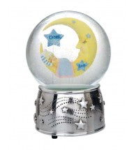 Reed & Barton Sweet Dreams Collection Moon Waterglobe