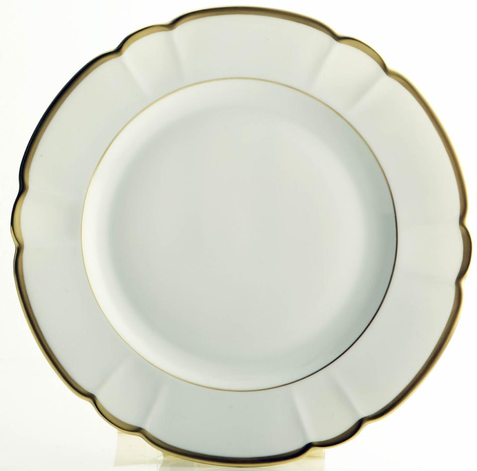 Robert Haviland Colette Gold Dinner Plate