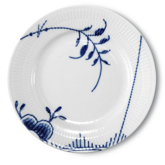 Royal Copenhagen Blue Fluted Mega Bread & Butter Plate, #6