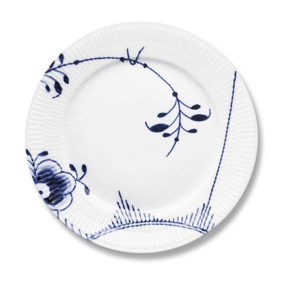 Royal Copenhagen Blue Fluted Mega Salad Plate, #2