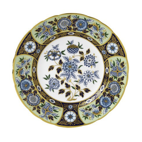 Royal Crown Derby Midori Meadow Salad/Dessert Plate