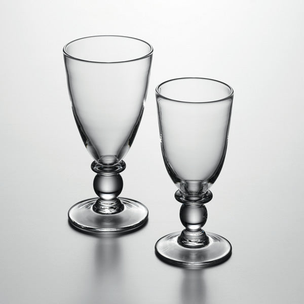 Simon Pearce Hartland White Wine Glass