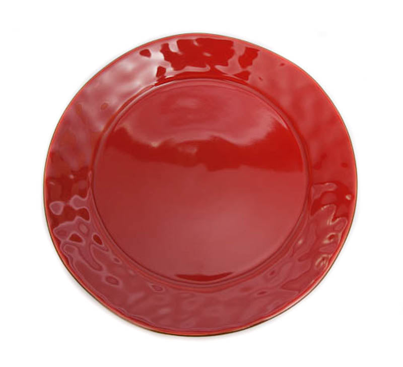 Skyros Designs Cantaria Poppy Red Charger Plate
