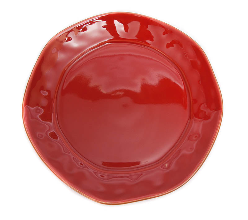 Skyros Designs Cantaria Poppy Red Salad Plate