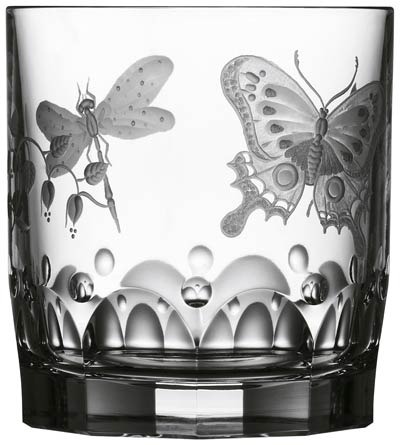 Varga Crystal Springtime Clear Double Old Fashioned