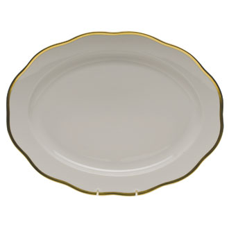"Herend Gwendolyn 15"" Oval Platter"
