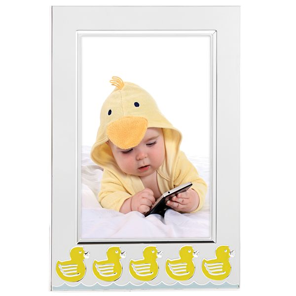 REED & BARTON SOMETHING DUCKIE 4*6 FRAME