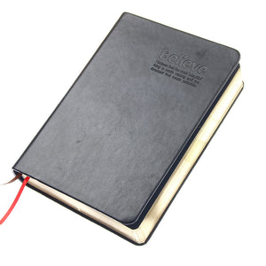 Vintage Leather Bible Diary Book