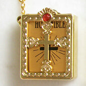 Christian Cross Bible Keychain