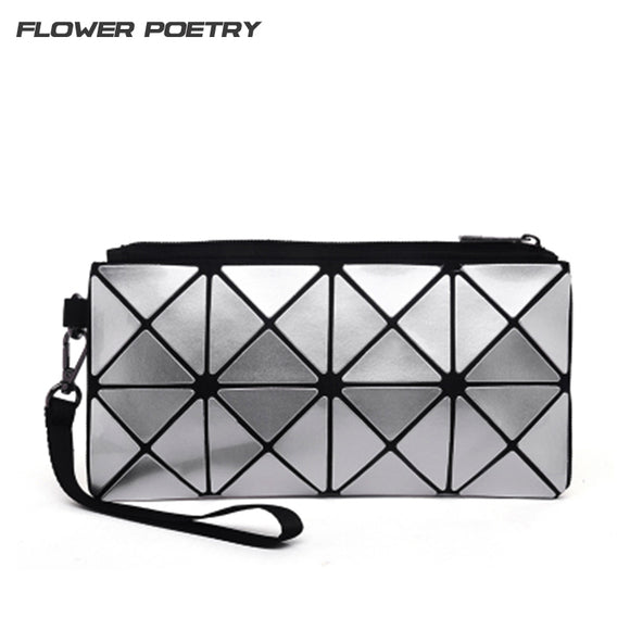 Flower Poetry Laser Hologram Bags