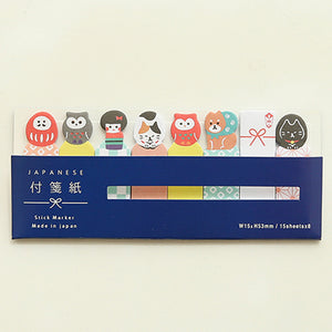 1 Pack Japanese Post it sticker Memo Pad