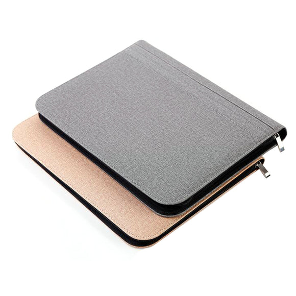 Notebooks Writing Pads Zipper Padfolio A4 Calculator Manager