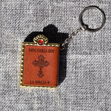 Mini Bible Keychain English Holy Bible Book