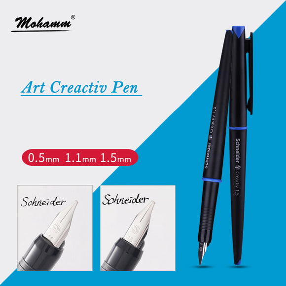0.5mm 1.1mm 1.5mm Calligraphy Fountain Pen Art