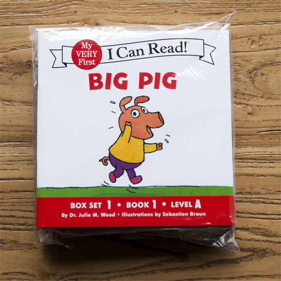 12books/set I Can Read Phonics BIG PIG My Very First picture book