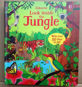 3D Look inside the Jungle picture book kids
