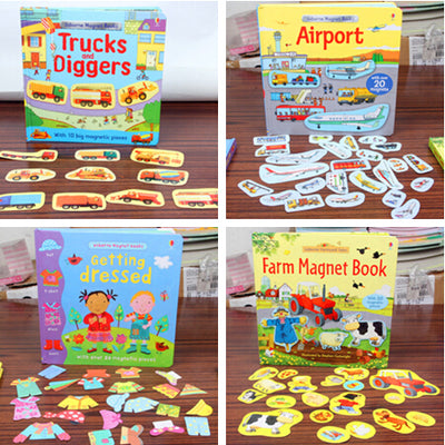 1piece English Picture StickerBook for kids