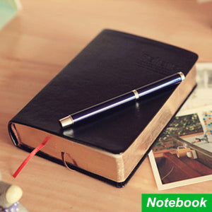 Vintage  Bible Diary Book-Leather