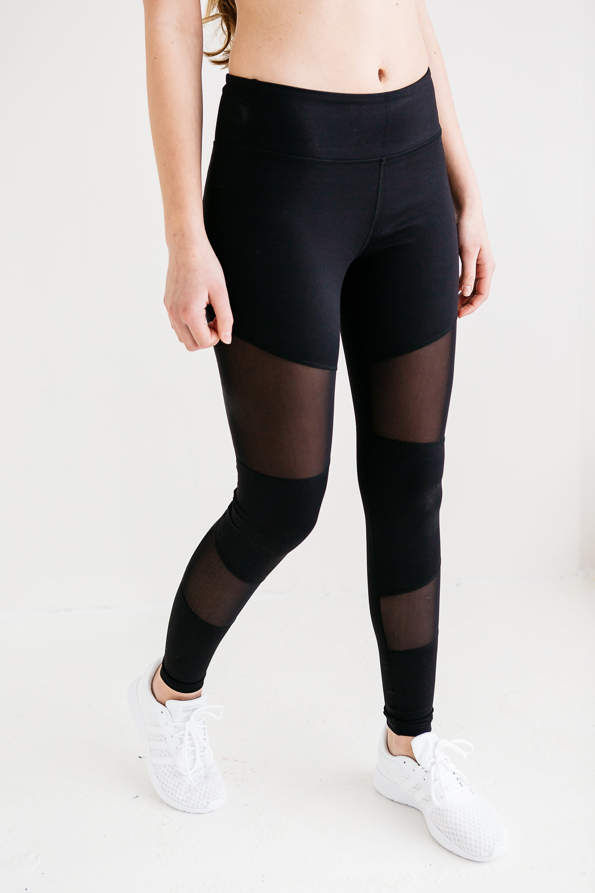 Don't Mesh Around Leggings