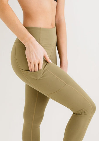 RENNegade Olive Green Leggings