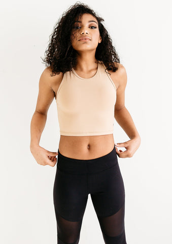 Crop Til You Drop Nude Top