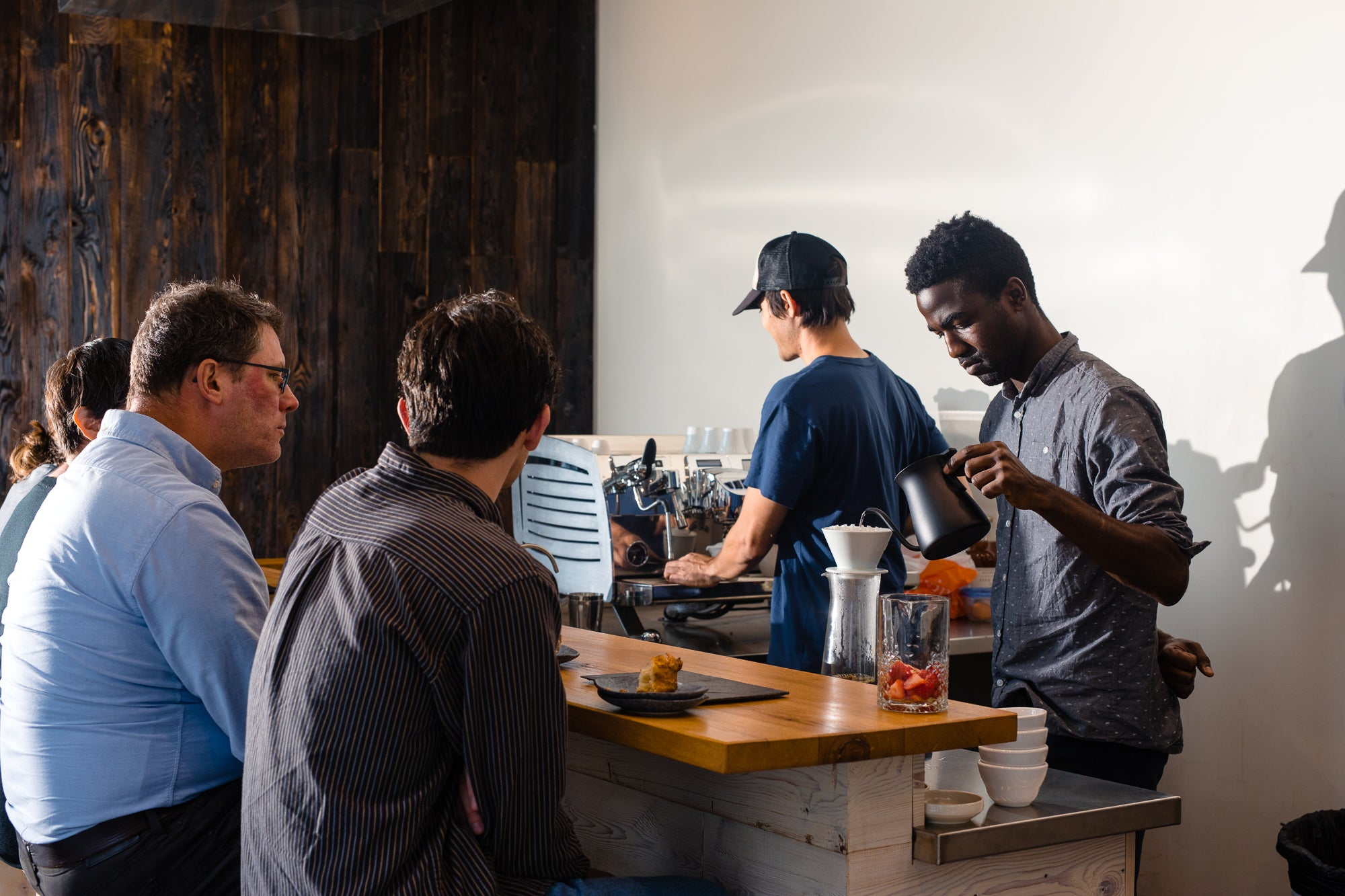 Omakase tasting bar At La Marzocco Cafe KEXP (Feb 15-Mar 17)
