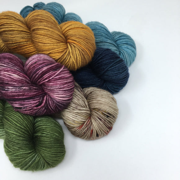 All Hand Dyed Happy Yarn