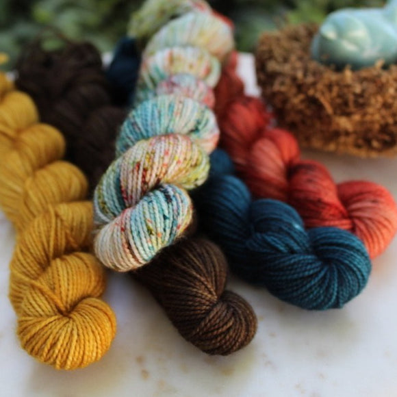 Indie Untangled Everywhere Show Colorway Collection (Dyed To Order. Allow 4 weeks)