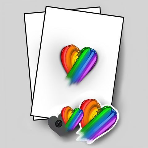 Rainbow Heart Bundle