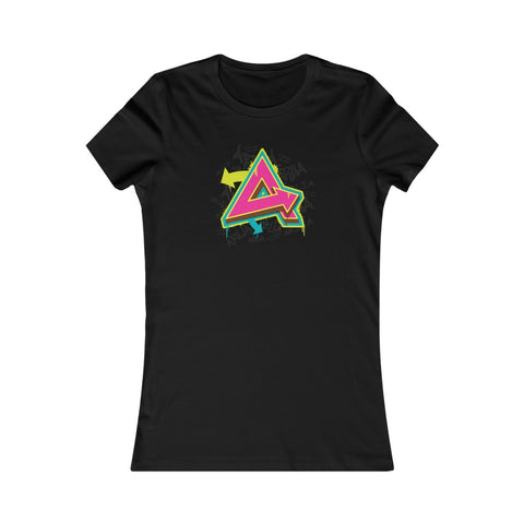Graffiti Logo Women's Favorite Tee