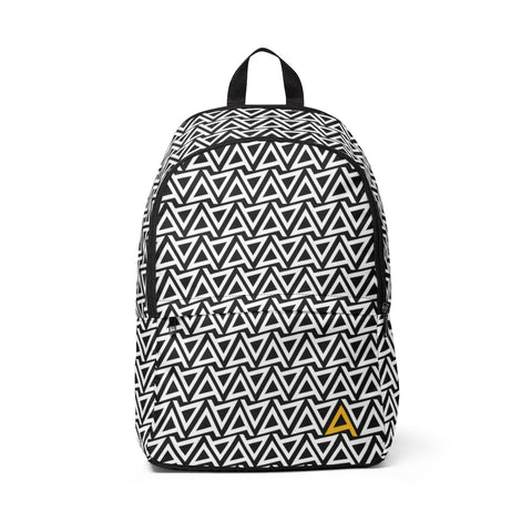 Logo Black and White Backpack