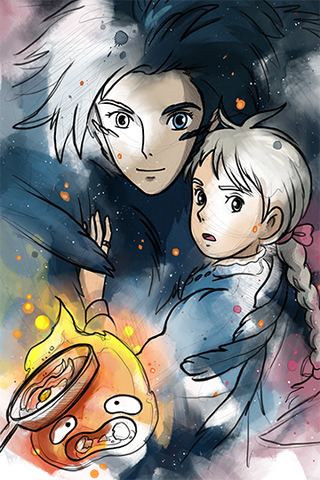 Howl's Moving Castle Print