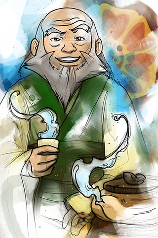 Uncle Iroh Print