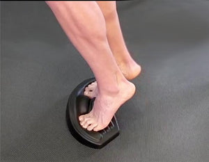 The ToePro foot exercise platform has been designed to improve performance by strengthening muscles of the foot and leg in their lengthened positions, while increasing toe and arch strength. Small and light enough to bring along in your bag.