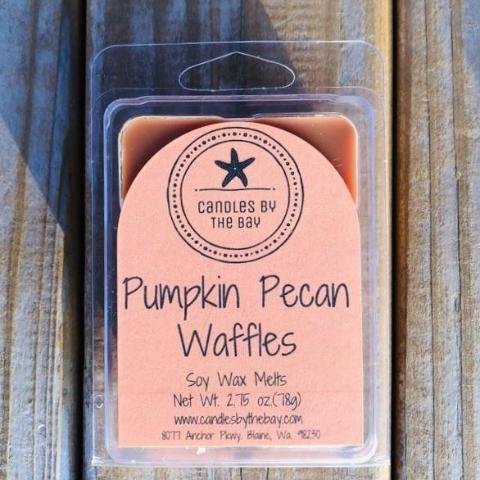 Pumpkin Pecan Waffles Soy Wax Melts