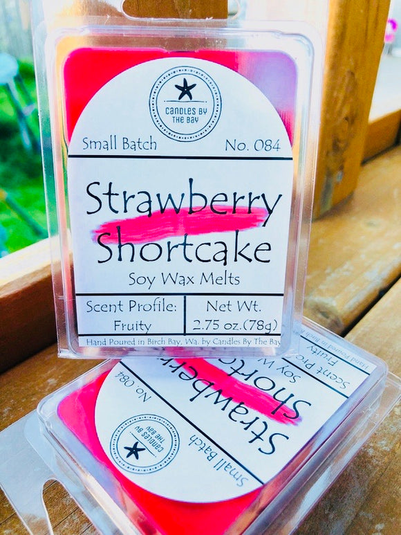 Strawberry Shortcake Soy Wax Melts