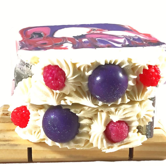 Black Raspberry Vanilla Coconut Milk Soap