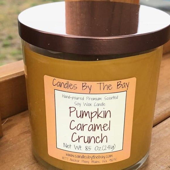 Pumpkin Caramel Crunch Soy Wax Candle