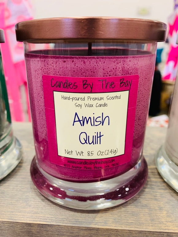 Amish Quilt Soy Candle