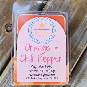 Orange & Chili Pepper Soy Wax Melts