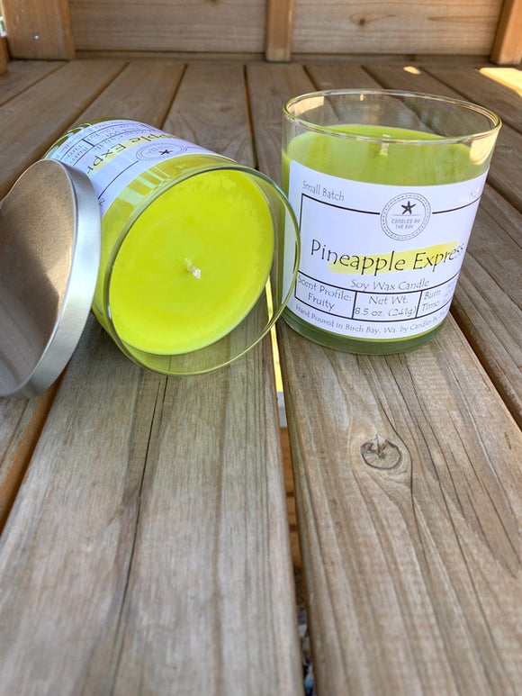 Pineapple Express Soy Candle