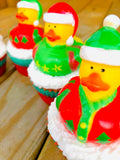 Ugly Sweater Rubber Ducky Cupcake Soaps