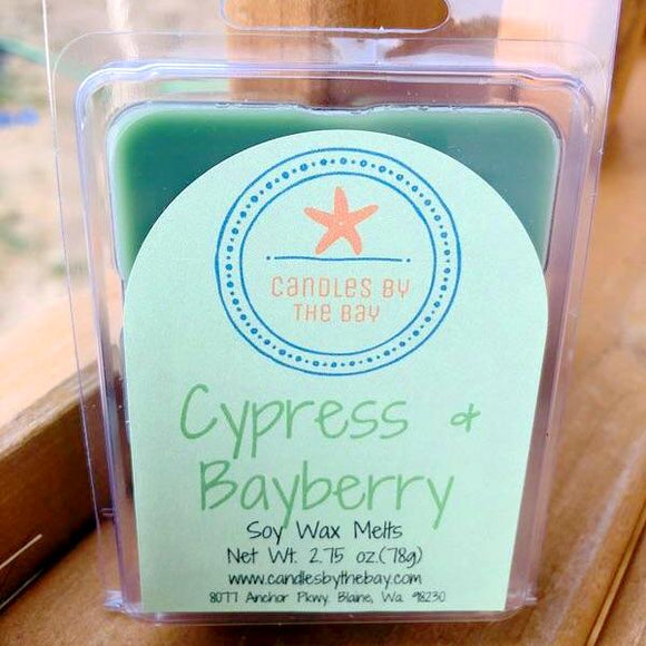 Cypress + Bayberry Soy Wax Melts