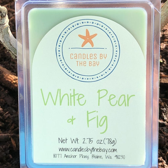 White Pear + Fig Soy Wax Melts