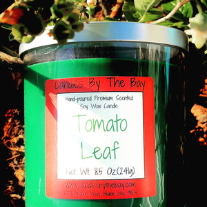 Tomato Leaf Soy Wax Candle