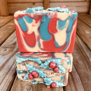 Merry Mistletoe Artisan Soap