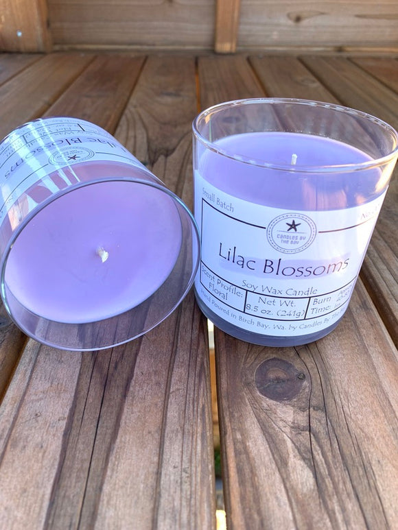 Lilac Blossoms Soy Candle
