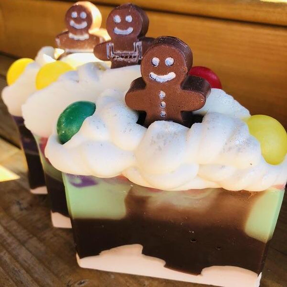 Gingerbread Village Artisan Soap