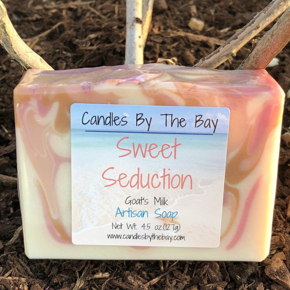 Sweet Seduction Goat's Milk Soap