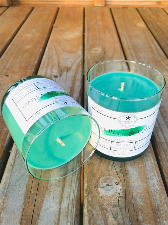 Silver Birch & Vetiver Soy Candle